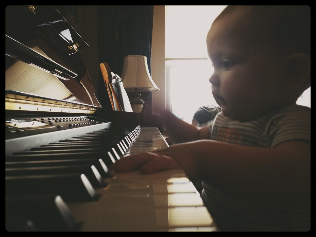 learning to play the piano is tough work