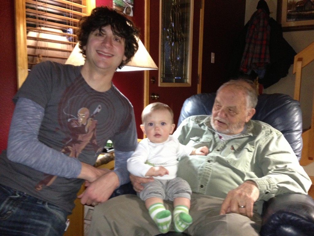 Great-Grandad, Henrie and Felix