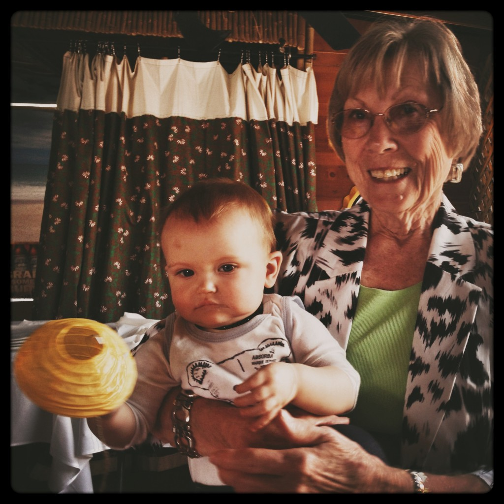 great grandma jean and felix