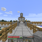 the skybridge that connects to Mike and Alberto's bases