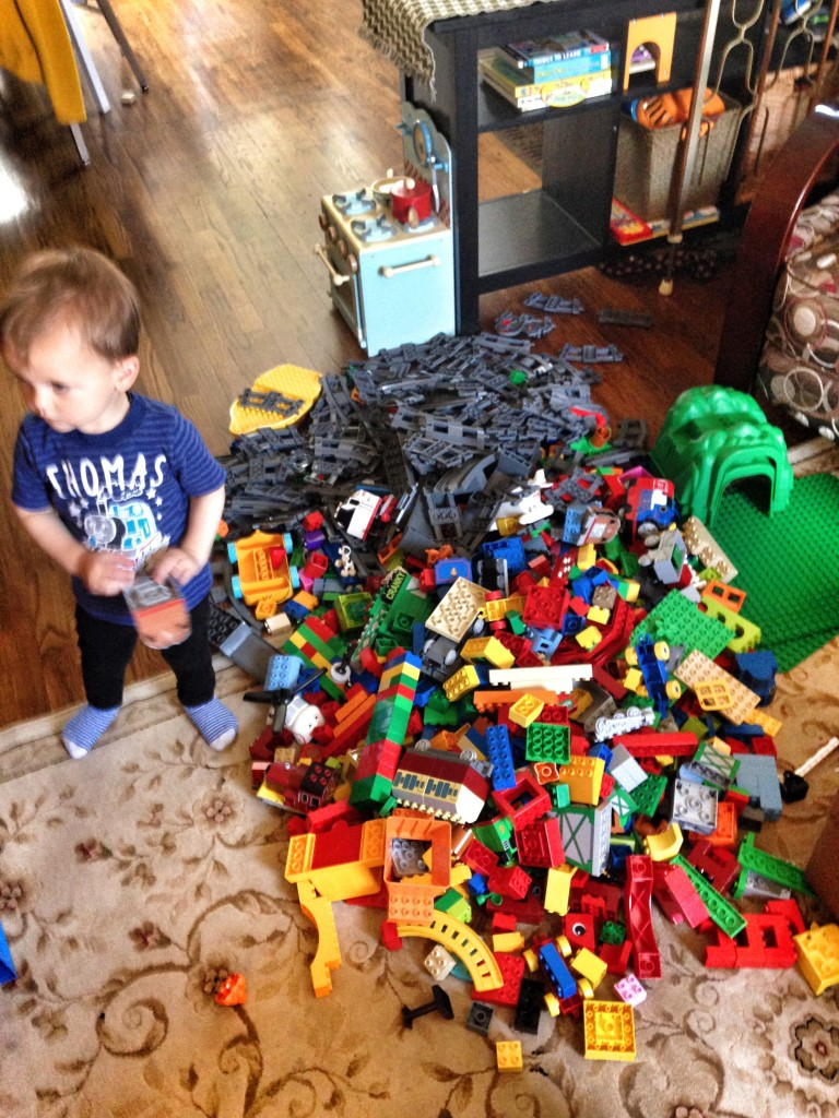 too many legos!