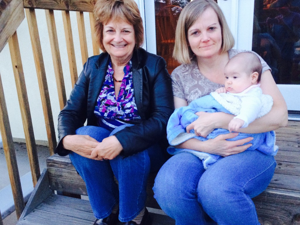 Great-Grandma, Grandma and Zoey