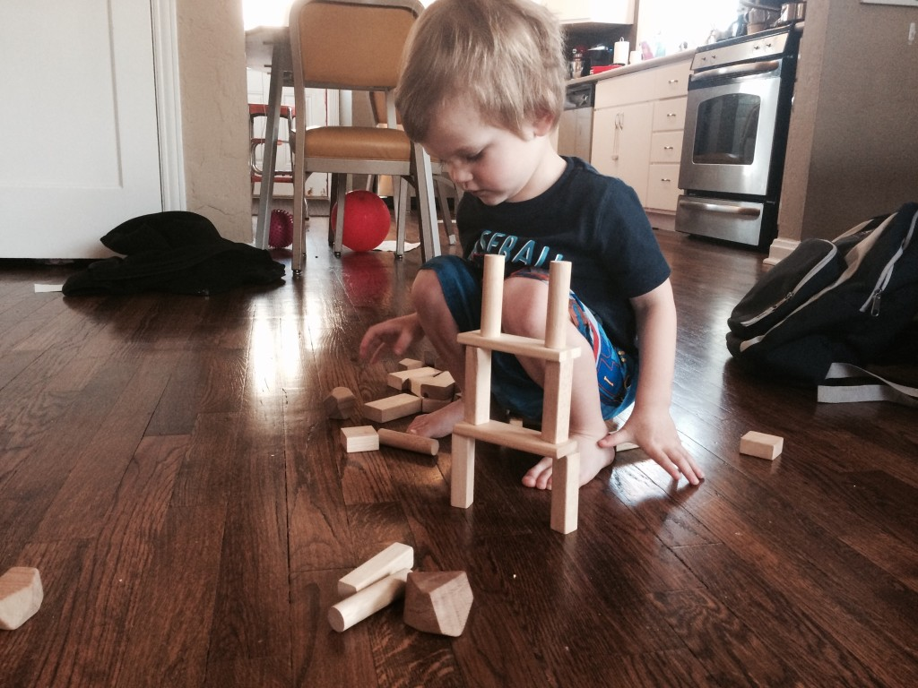 Felix builds his tower