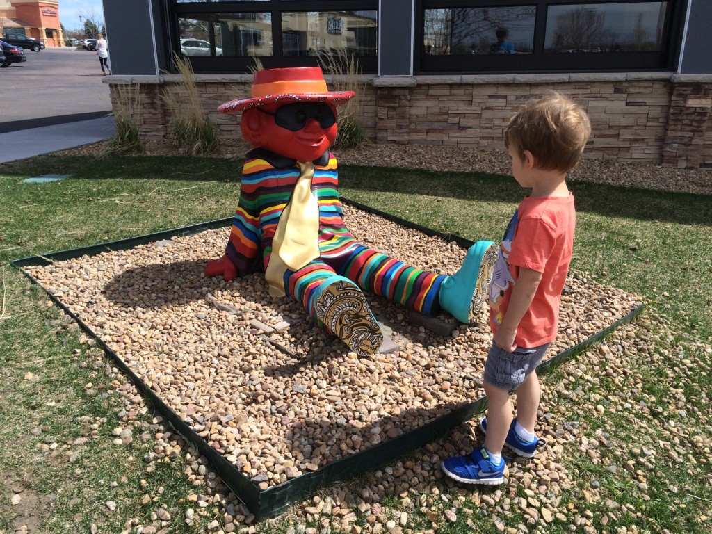 Not so sure about this hamburglar guy