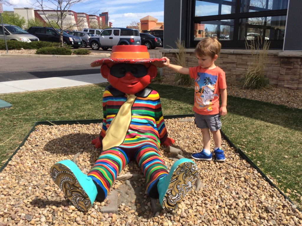 The psychedelic hamburglar at the mellow mushroom